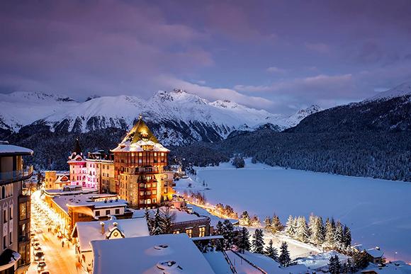 горнолыжный курорт в Швейцарии